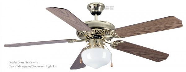 Craftmade Elc52 Sheffield 52  Transitional Ceiling Fan With Single