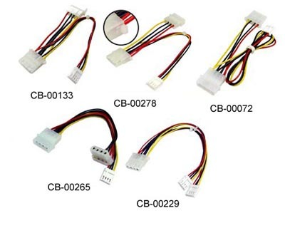 Dc Power Cable (red, Black, Black, Yellow)