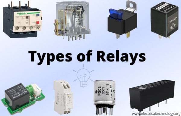 Different Kinds Of Relays