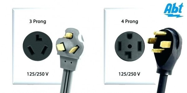 Types Of 4 Prong Dryer Plugs