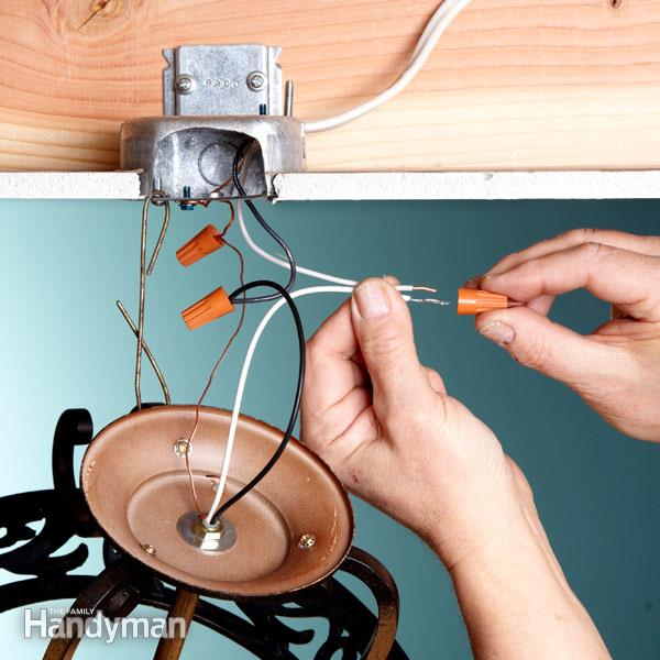 Electrical Tips  Replacing A Light Fixture