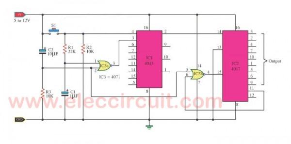 Electronic Switch Circuit Diagram