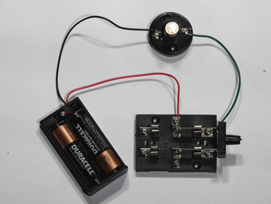 Electronics Projects  How To Build A Switched Lamp Circuit