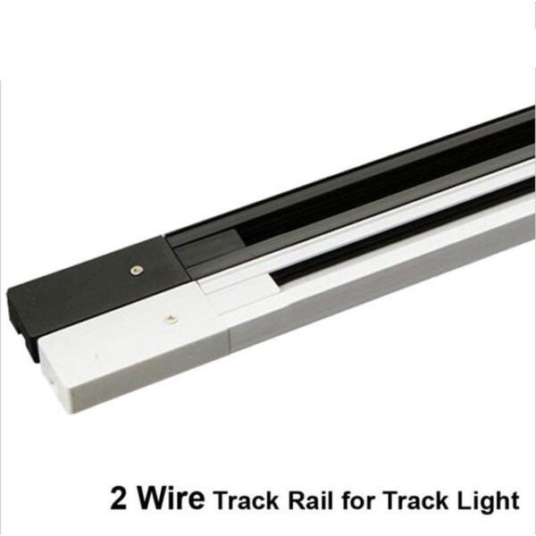 Fanlive 20pcs Lot 2 Wire Track Rail ,2m Led Track Light Rail Track