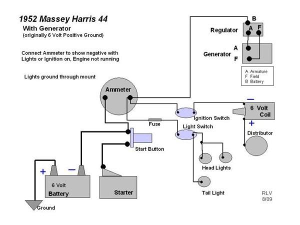 Ferguson Tea 20 Wiring Diagram on