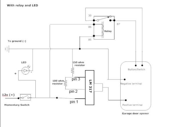 Wiring Diagram For Garage Door Opener