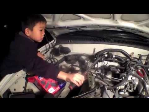 Helping My Son Replace Spark Plugs & Wires Toyota Tacoma√ Fix It