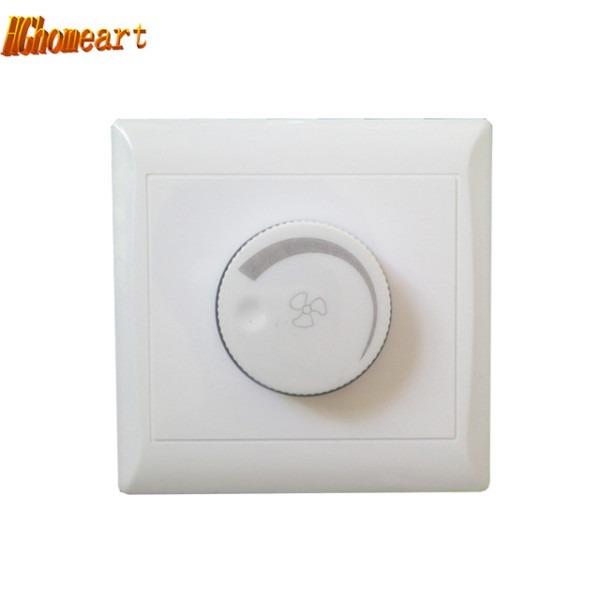Hghomeart Ceiling Fan Speed Control Switch Wall Button Lighting