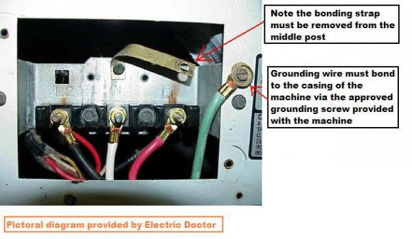 How Do You Change A 3 To 4 Pronged Plug On A Kenmore 70 Series Dryer