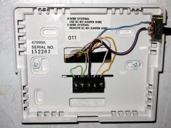 How To Hook Up A Digital Thermostat