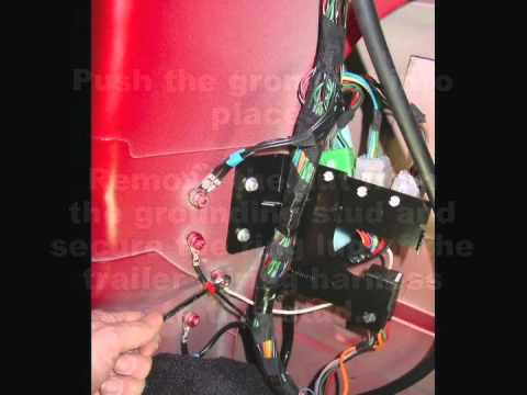 How To Install A Trailer Wire On Range Rover Sport