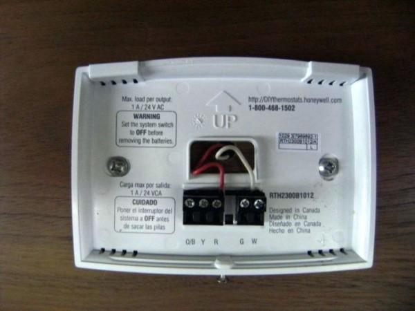 Honeywell Thermostat 2 Wire Installation