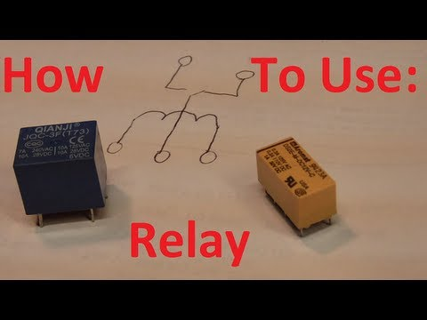 How To Use A Relay, The Easy Way