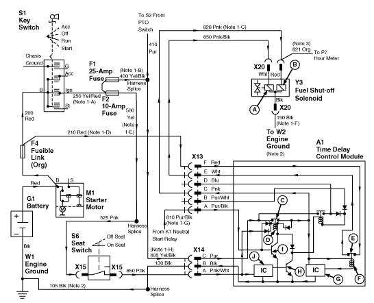 John Deere L110 Wiring Schematic