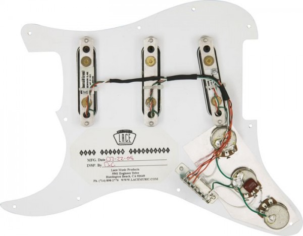 Lace Stratocaster Wiring Diagrams