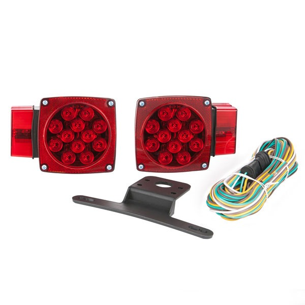 Led Trailer Light Kit – Under Over 80″ – Waterproof (2 Tail Lights