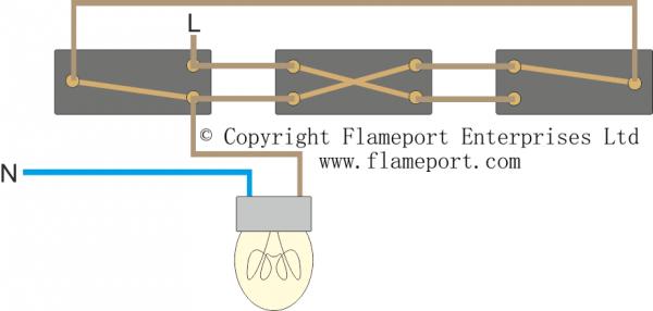 3 Way Lighting Circuit