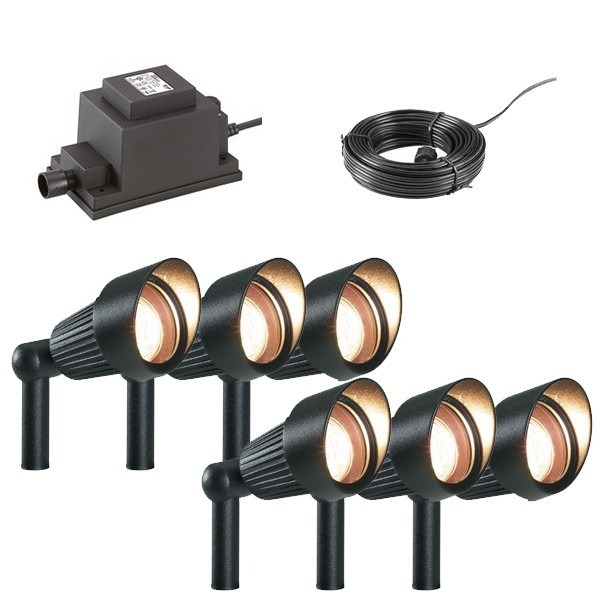 Low Voltage Garden Lighting Techmar Spot Light Garden