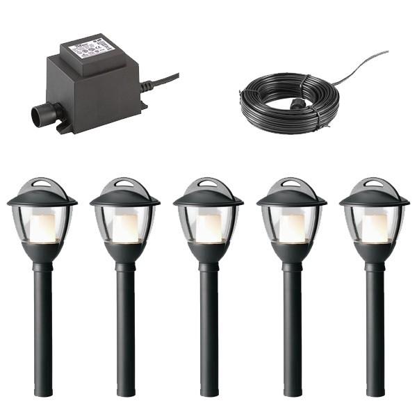 Mains Versus Low Voltage For Garden Lighting Article