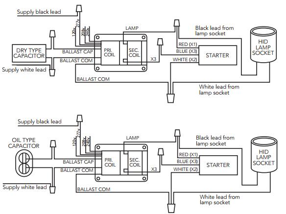 400w Metal Halide Wiring Diagram