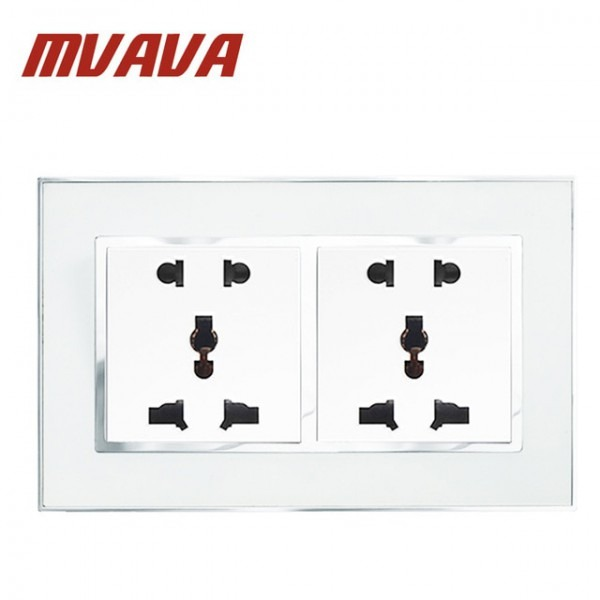Mvava Luxury Wall Dual Double Electric Socket Multifunctional