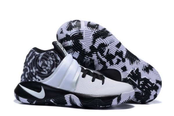 Nike Kyrie 2 Shoes White Black Camouflage