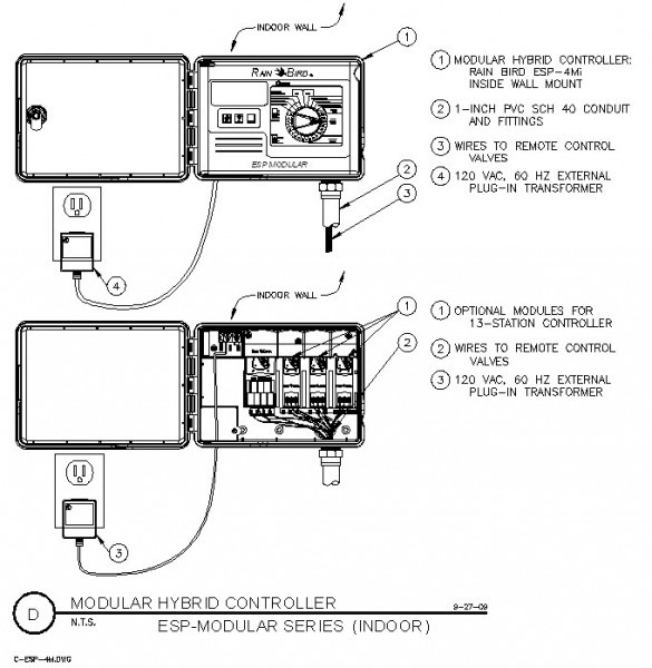 Rain Bird Esp Wiring Diagram