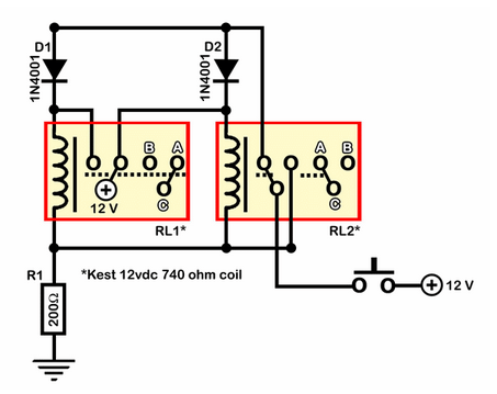 Relay Toggle Switch