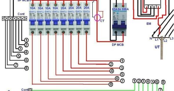 Single Phase Wiring Diagram