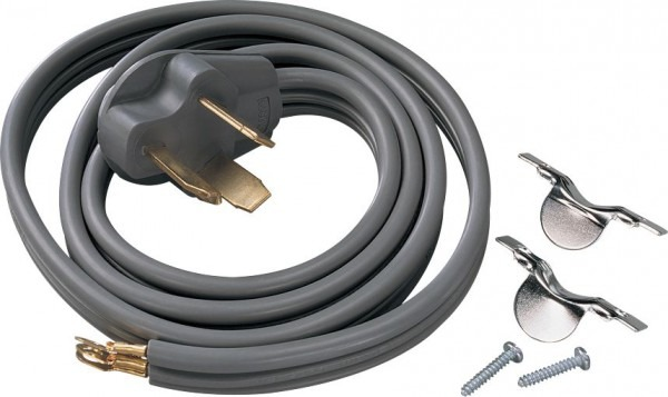 Smart Choice 6' 30 Amp Dryer Power Cord Required For Hook