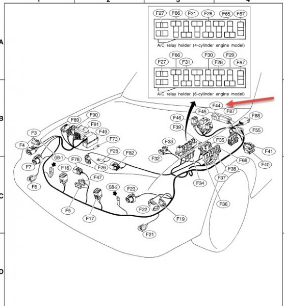 subaru headlight wiring diagram 1995 1997    subaru    legacy    wiring       diagram     1997    subaru    legacy    wiring       diagram