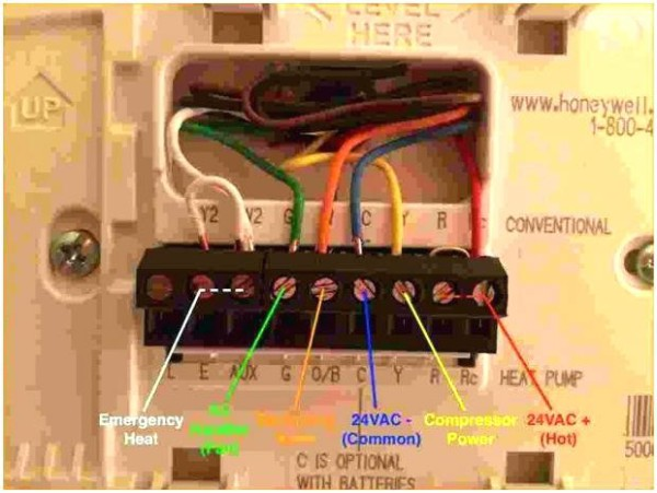 How To Wire A Honeywell Thermostat With 6 Wires