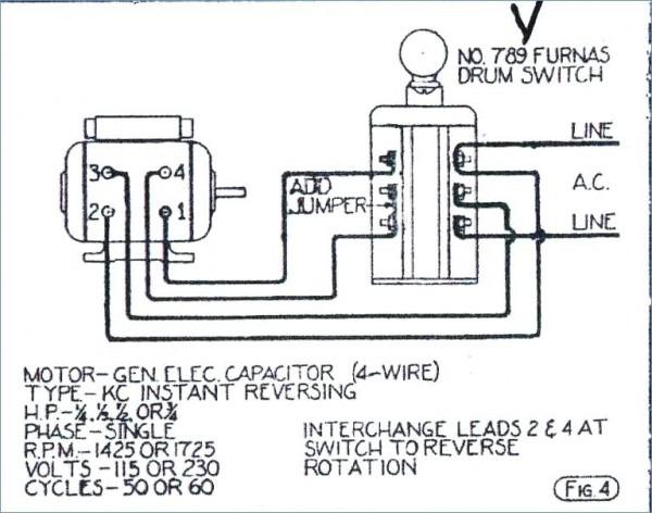 Furnas Drum Switch Wiring Diagram