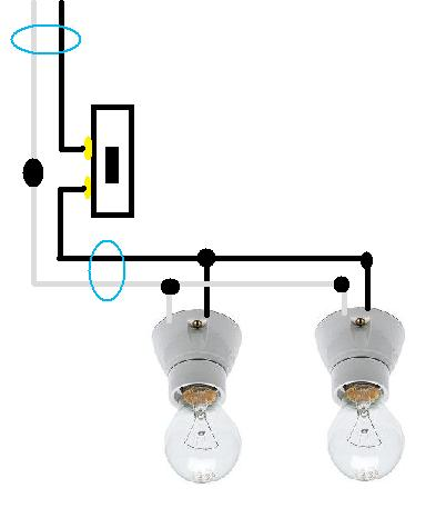 Two Lights On One Switch