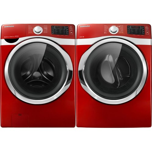 Washers & Dryers Store  Samsung Tango Red 4 3 Cu Ft Steam