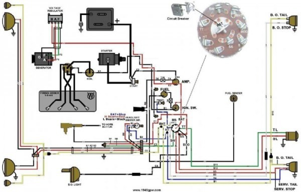Wiring Diagram For Cj2a Jeep
