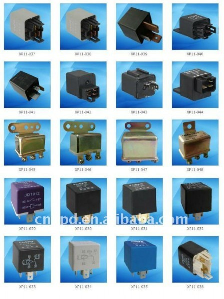 12v 30a Universal Type Auto Relay With Transparent Cover Shop For