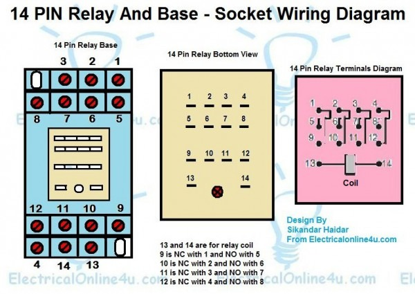 12 Pin Relay Wiring Diagram | Wiring Diagram  Pin Relay Wire Diagram on 2 pin relay diagram, 5 pin 12v relay diagram, 9 pin relay diagram, 10 pin relay diagram, 6 pin relay diagram, 3 pin relay diagram, 7 pin relay diagram, 12 pin relay diagram, idec relays diagram, well pump pressure switch diagram, 14 pin relay diagram, 4 pin relay diagram, 8 pin power, ac condenser fan motor wiring diagram, 11 pin relay diagram,
