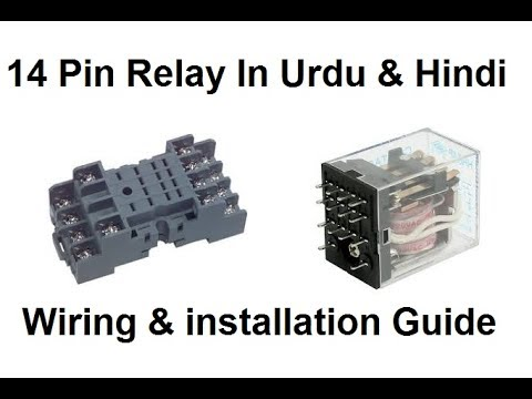 14 Pin Relay Wiring