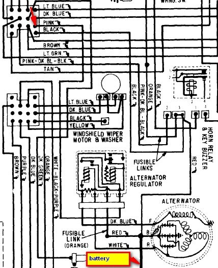 68 Camaro Engine Wiring Diagram
