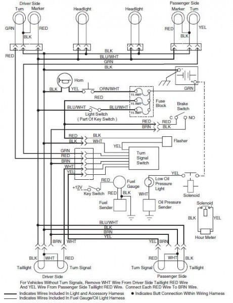 1997 Ezgo Wiring Diagram