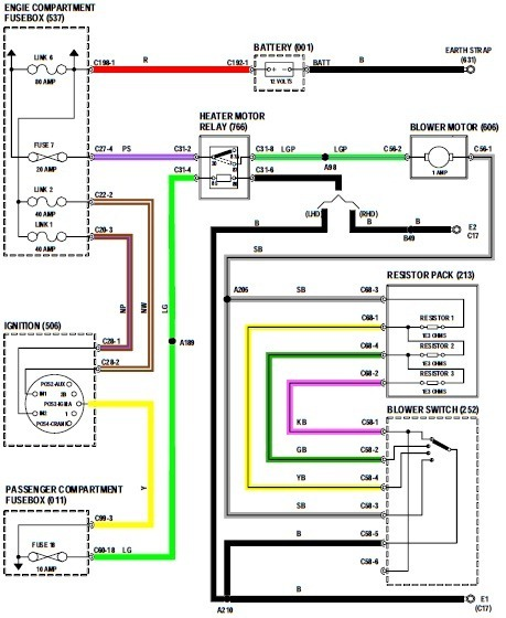 1998 Dodge Ram Stereo Wiring Diagram