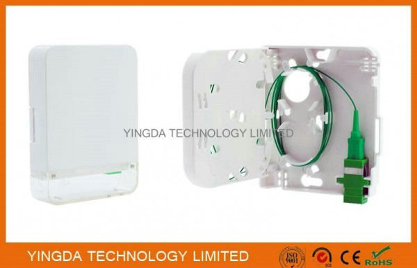1 Port Customer Wall Outlet Fiber Terminal Box Faceplate Sc   Apc