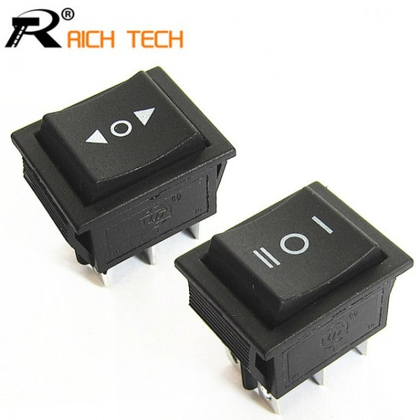 1pc 2 Way Self Reset Toggle Switch 3files Cooper 6 Feet Power