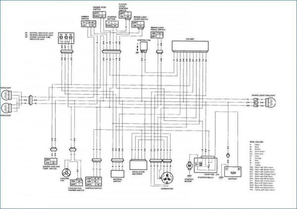 2005 Suzuki 400 Wiring Diagram