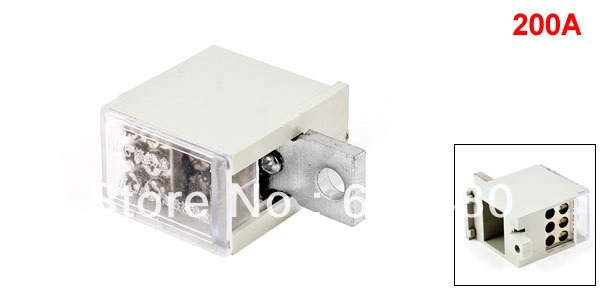 200a One 1 Inlet Six 6 Outlet Wire Contact Pin Type Terminal
