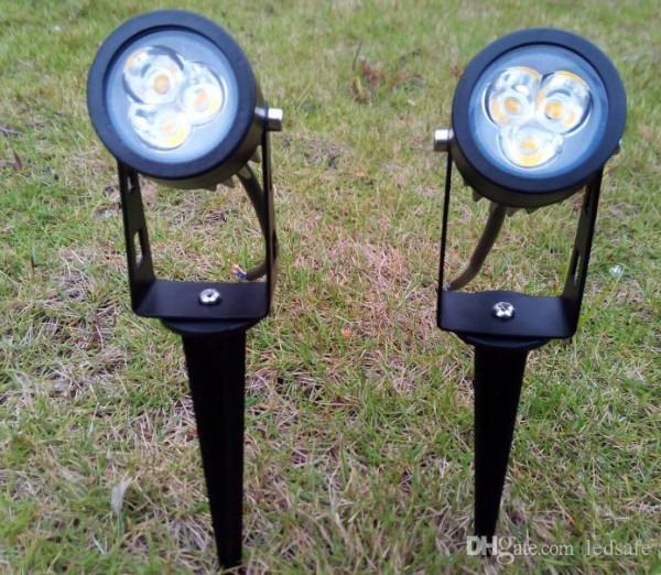 2019 Ip65 Outdoor Led Lamp 12v 110v 220v Waterproof Lawn Light 3w
