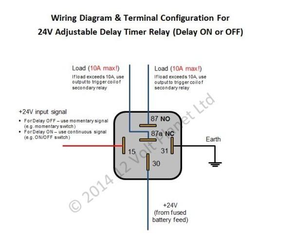 24v Relay Diagram