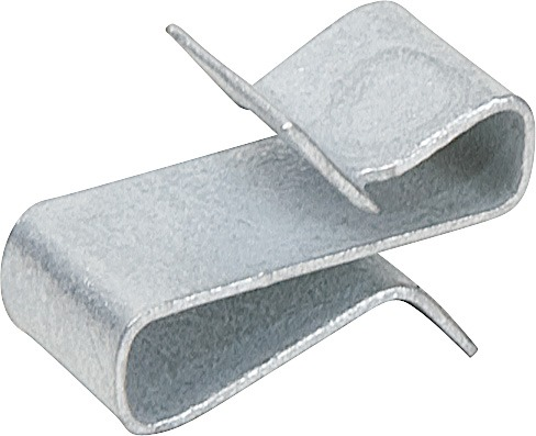 25 Pc Steel Trailer Frame Wire Clips