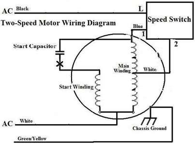 2 Speed Ac Motor Wiring
